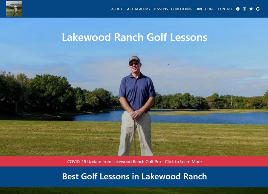lakewood ranch website golf lessons