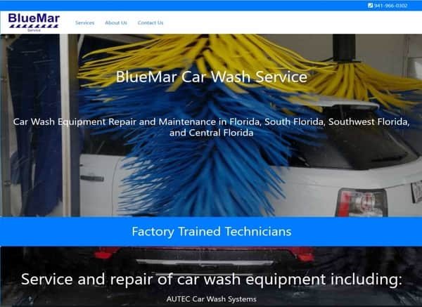 custom website service maintenance